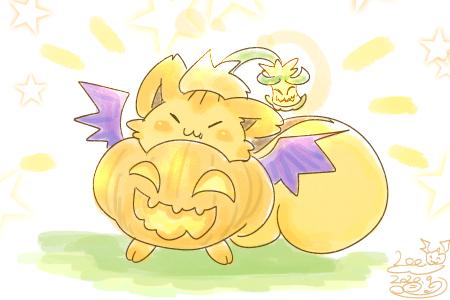かぼちゃのりー! ちいさめ